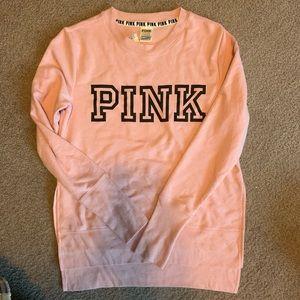 Vs pink sweatshirt SZ S